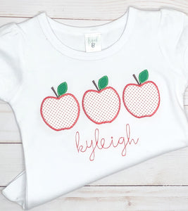 Red Dot Apple Trio Shirt