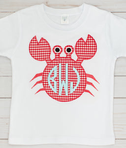 Appliqué Crab Shirt & Shorts