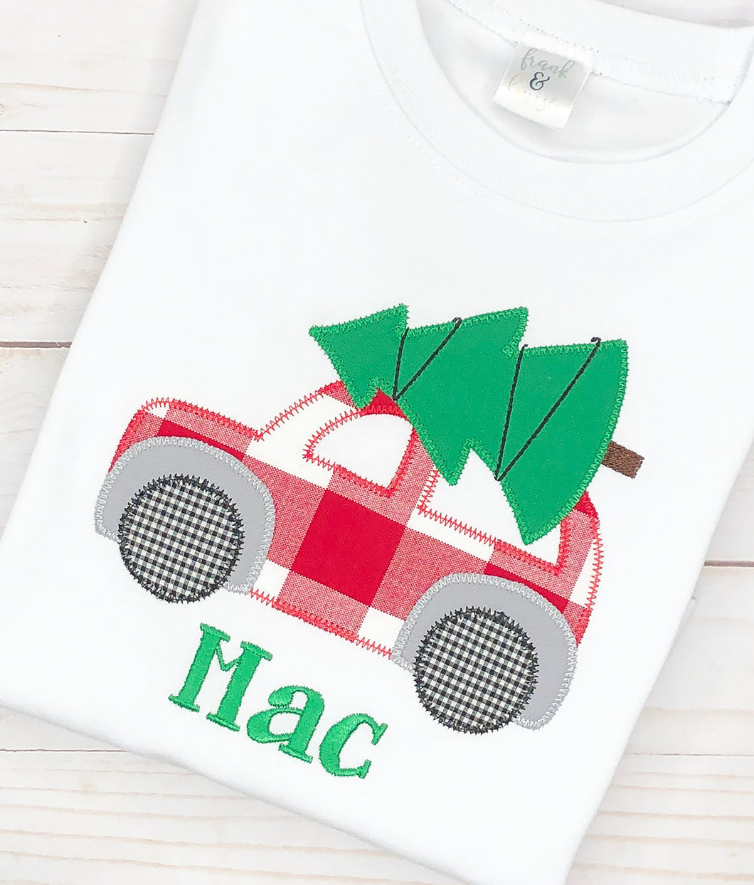 Red Christmas Car Shirt