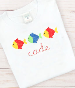 Colorful Fish Shirt