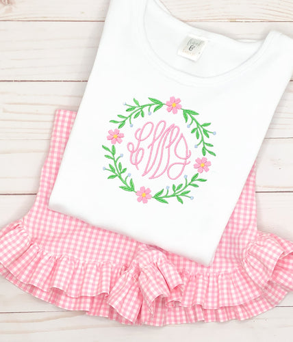 Bright Daisy Monogram Set
