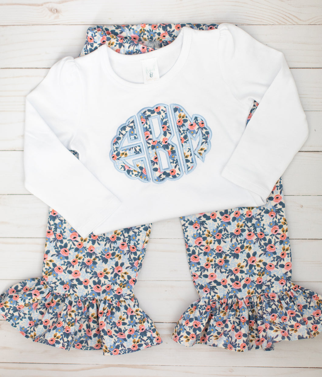 Floral Monogram Outfit