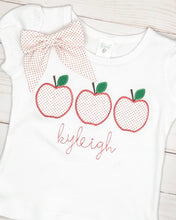 Load image into Gallery viewer, Red Dot Apple Trio Shirt