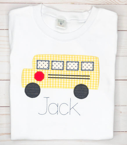 Back to School Bus Shirt