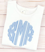 Load image into Gallery viewer, Periwinkle Scallop Monogram Set