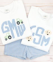 Load image into Gallery viewer, Puppy Monogram Shirt