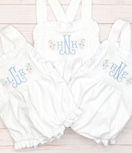 Load image into Gallery viewer, White Ruffle Sunsuit