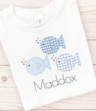 Load image into Gallery viewer, Blue Fish Shirt