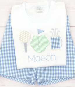 Golf Trio Shirt & Shorts