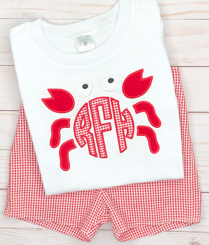 Monogram Crab Set