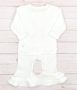 Vintage Stitch Name Romper