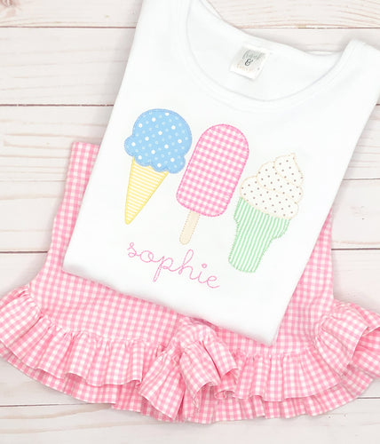 Ice Cream Cone Trio Set