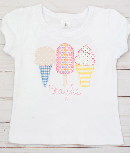 Bright Ice Cream Shirt