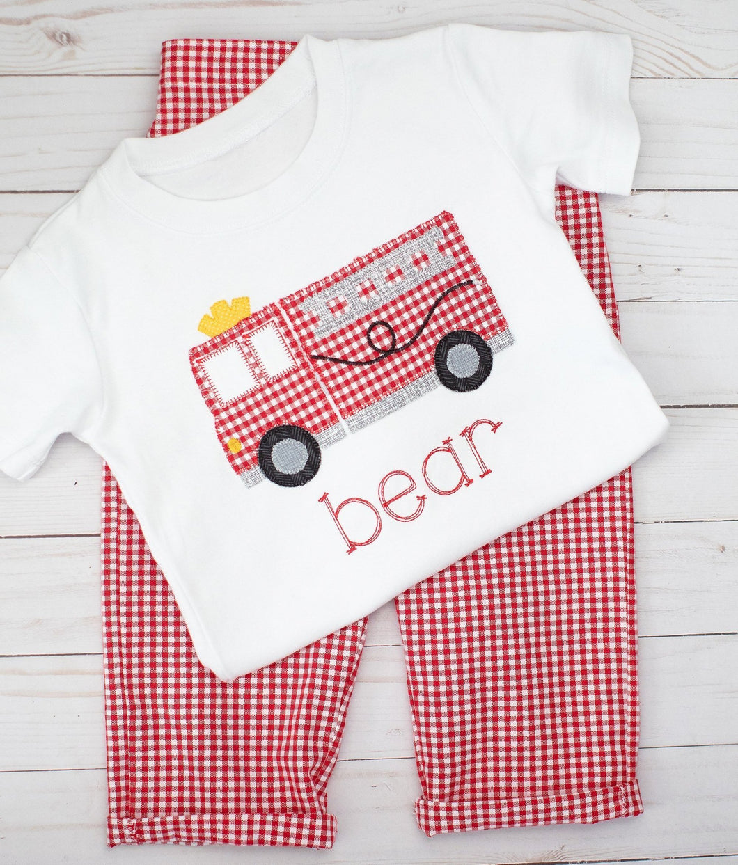 Firetruck Outfit