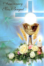 Load image into Gallery viewer, Share Mass Enrolment Card - Anniversary Mass Bouquet RIP