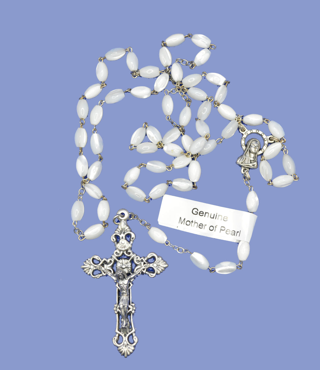 Rosary Beads Mother of Pearl Small Bead