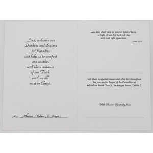 Share Mass Enrolment Card – With Deepest Sympathy