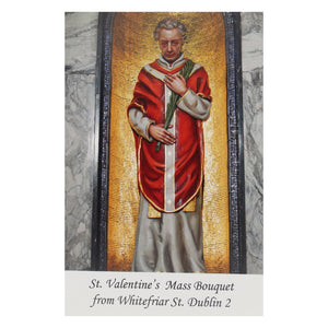 Share Mass Card online Enrolment  – St Valentine Mass Bouquet