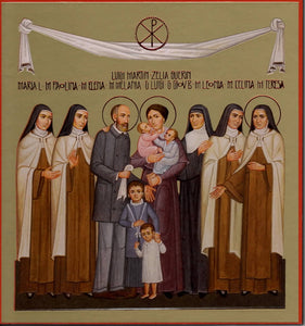 Icon St Therese and the Martin Family