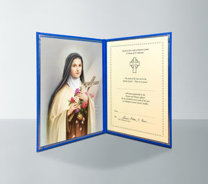Perpetual Mass Enrolment Card RIP – St Therese of Lisieux