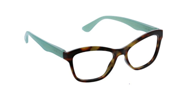 Tortoise - Turquoise / Clear