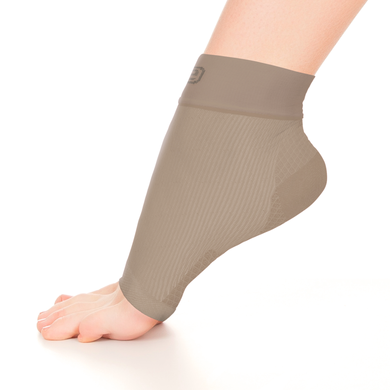 Ankle Sleeve Solid Nude