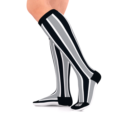 SPORTS TEAM Series Compression Socks Black/Gray/White 15-20 mmHg