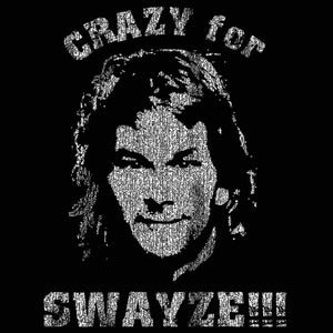 Crazy For Swayze Men's Tall T-Shirt - Donkey Tees