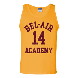 Bel-Air 14 Academy Basketball Tank Top - Donkey Tees