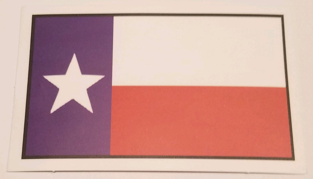 Sticker - Texas Flag