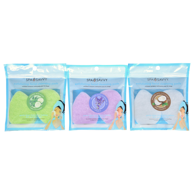 Pack of 2 Essential Oil Infused Facial Cleansing Pads