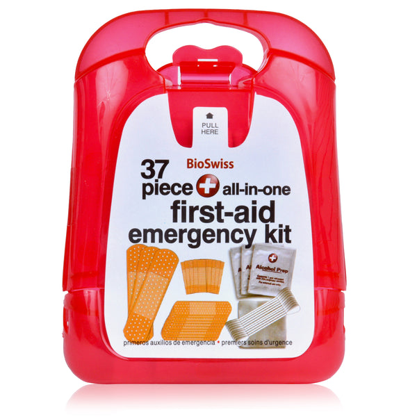 37 Piece All-In-One Emergency First Aid Kit