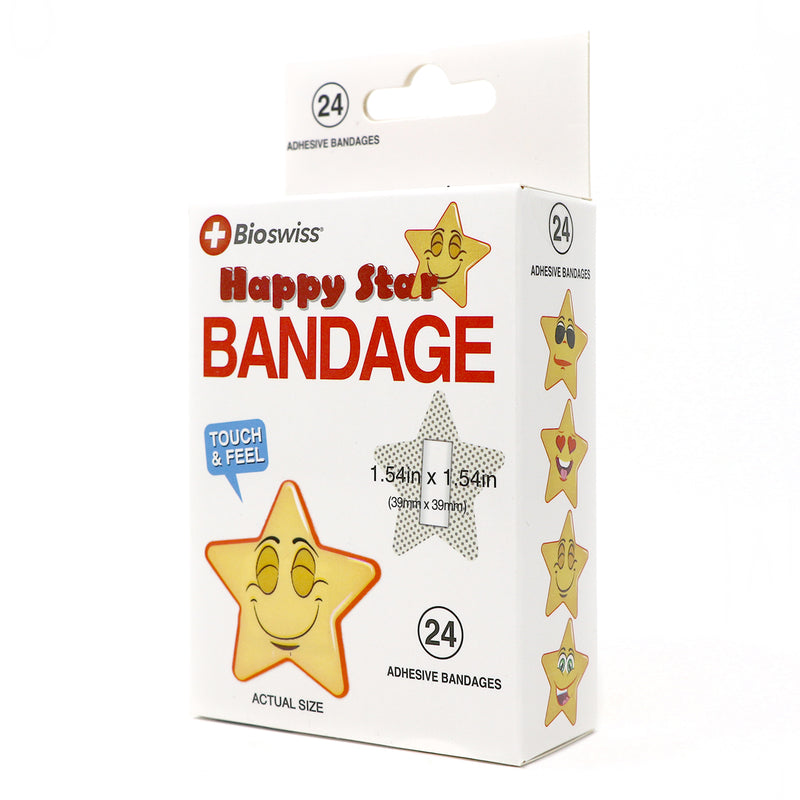 Star Shaped Bandage- Pack of 24