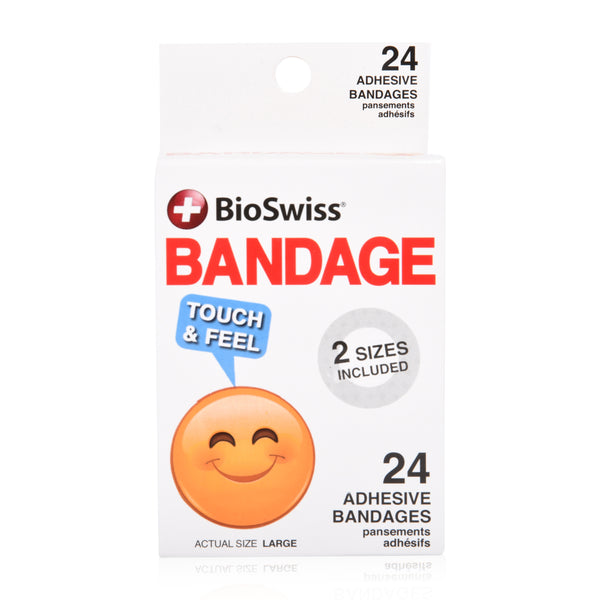Emoji Shaped Bandages- Pack of 24