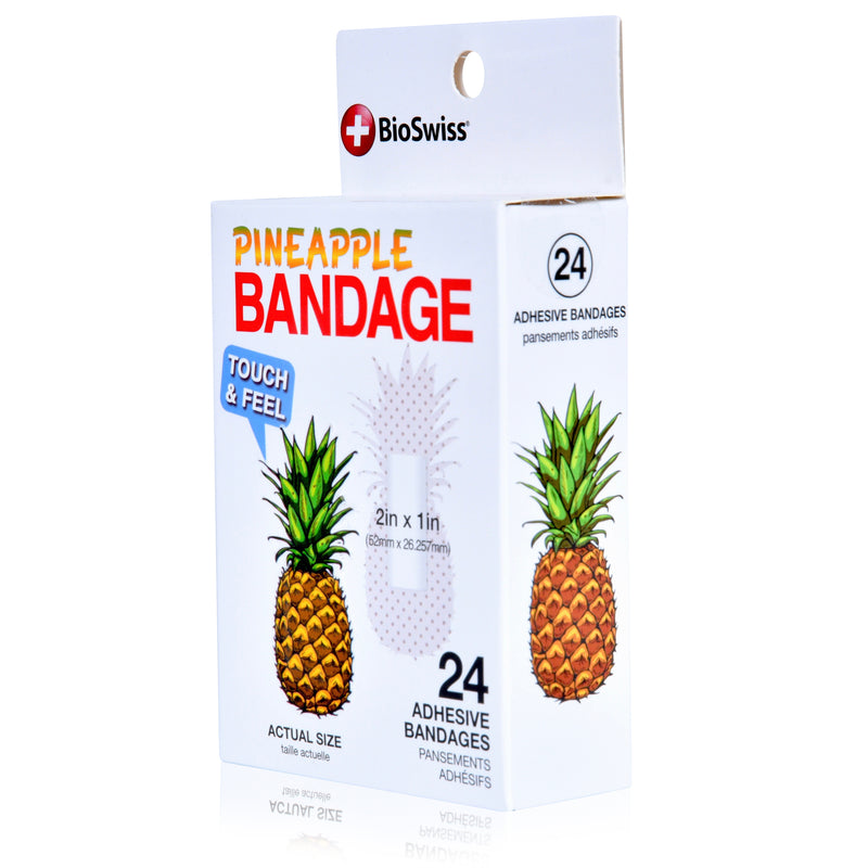 Pineapple Shaped Bandages- Pack of 24