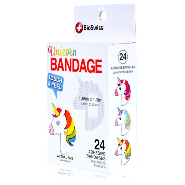 Unicorn Shaped Bandages- Pack of 24