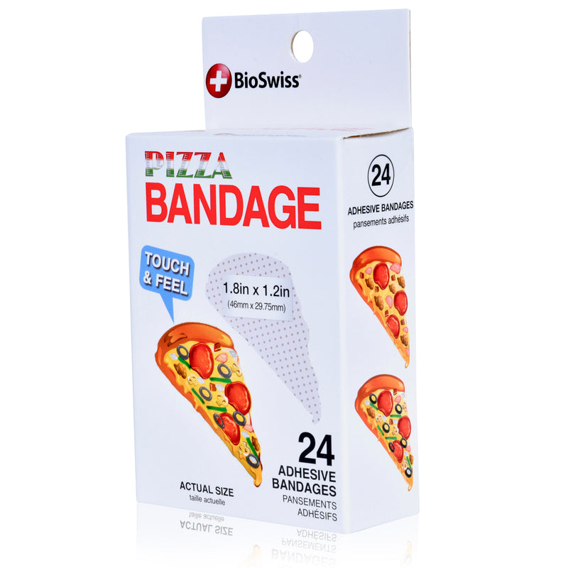 Pizza Shaped Bandages- Pack of 24