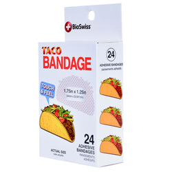 Taco Shaped Bandages- Pack of 24