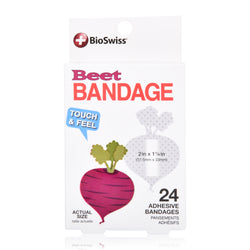 Beet Shaped Bandages- Pack of 24