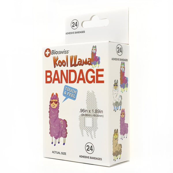 Llama Shaped Bandage- Pack of 24