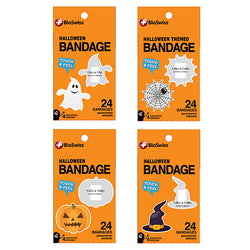 Halloween Assorted Shaped Bandages- Pack of 24