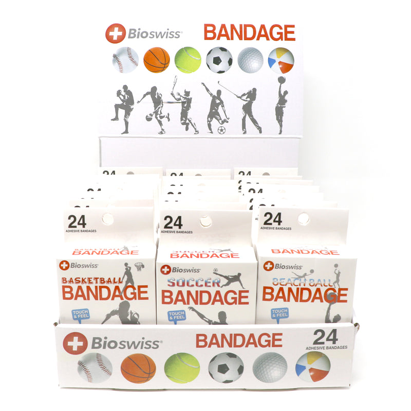 Assorted Balls Novelty Bandages