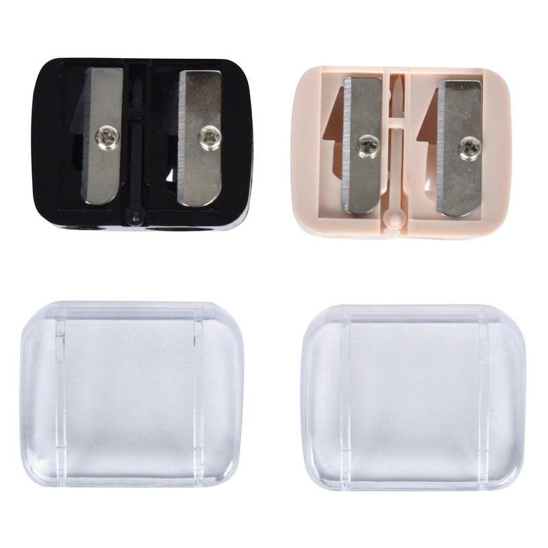 Set of 2 Cosmetic Pencil Sharpeners