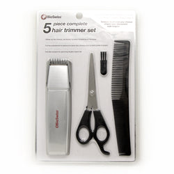 5 Piece Complete Hair Trimmer Set