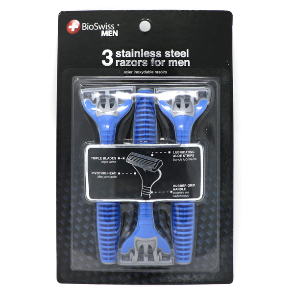 Pack of 3 Triple Blade Men's Razors