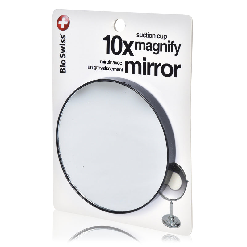 10x Magnification Mirror with Suction Cups