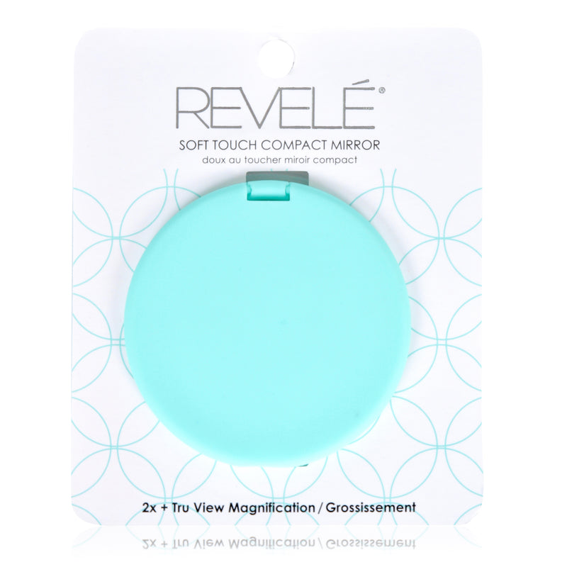 Soft Touch 2x Magnification Compact Mirror