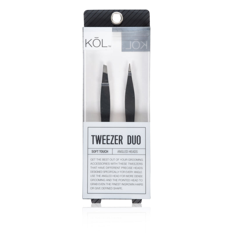 Set of 2 Precision Stainless Steel Tweezers