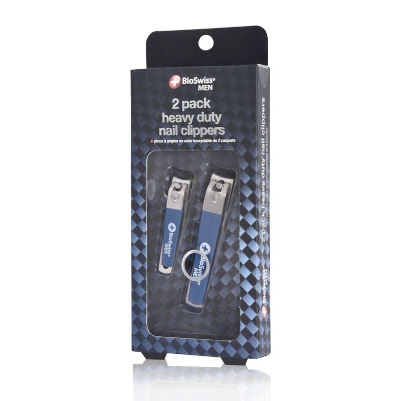Set of 2 Soft Touch Nail Clippers