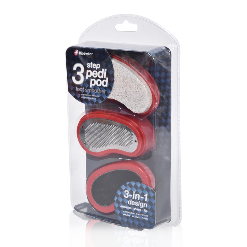 3 Step Pedi Pod Foot Smoother